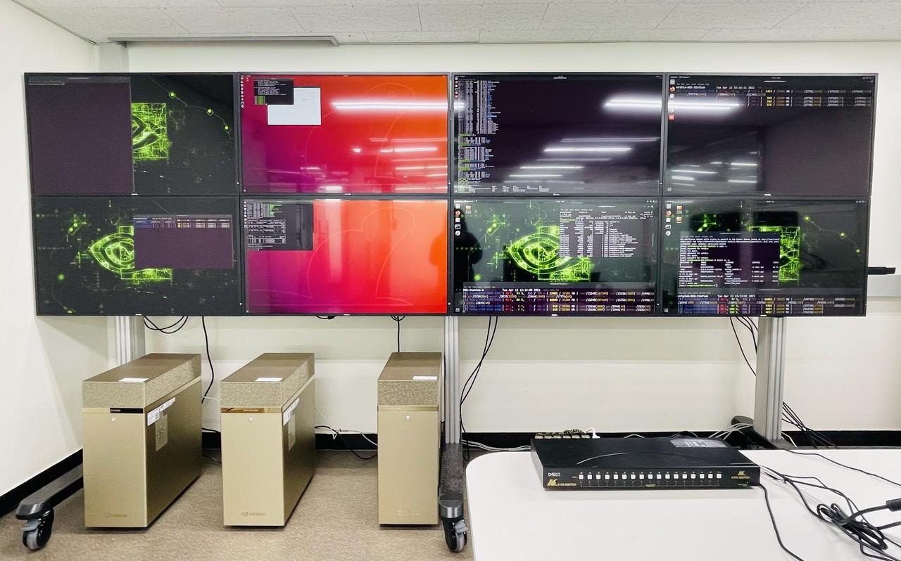 인하대 인공지능융합연구센터 내 인공지능컴퓨팅센터(사진=인하대)
